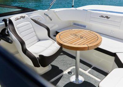 Sea Ray SPX 190 hors bord sellerie