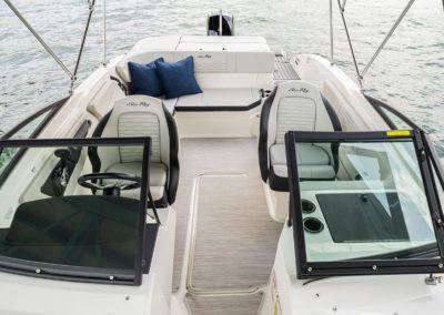 Sea Ray SPX 210 Hors Bord pare-brise